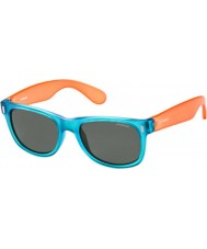 Polaroid Kinder p0115 89t y2 blau, orange, polarisierte Sonnenbrille
