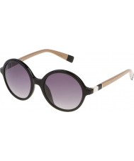 Furla Damen lola su4966-700y glänzende schwarze Sonnenbrille