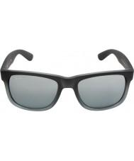 RayBan Rb4165 55 justin Gummi grau 852-88 Sonnenbrille