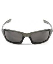 Oakley Oo9238-05 Fünfer squared grauer Rauch - warm grau Sonnenbrille