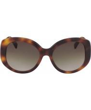 Longchamp Damen lo601s 214 55 Sonnenbrille