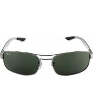 RayBan Rb8316 62 Tech Kohlefaser Rotguss grün 004 Sonnenbrille
