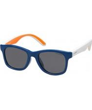 Polaroid Kinder pld8001-s t20 y2 blau polarisierten Sonnenbrillen