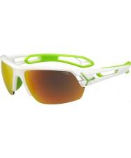 Cebe Cbstm11 s-track weiße Sonnenbrille