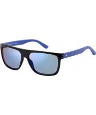 Tommy Hilfiger Mens th 1277-s fb1 23 schwarz blau Sonnenbrille