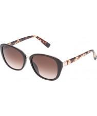 Furla Damen College su4905r-0d84 glänzend voll braun Sonnenbrille