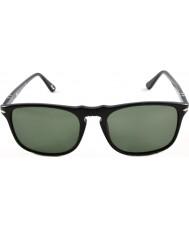 Persol Po3059s 54 suprema schwarz 95-31 Sonnenbrille