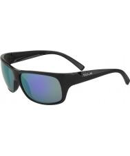 Bolle Viper matt-schwarz blau-violette Sonnenbrille