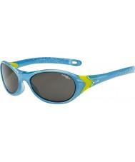 Cebe Cricket (Alter 3-5) Kristall blau lime Sonnenbrille