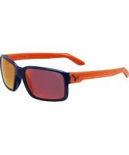 Cebe Geck glänzend blau orange Sonnenbrillen