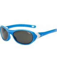 Cebe Cricket (Alter 3-5) matt cyan weiß 1500 grau blaues Licht Sonnenbrille