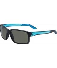 Cebe Geck matt schwarzen Kristall blauen Sonnenbrillen