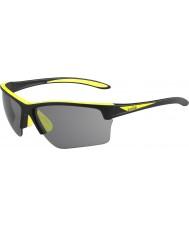 Bolle 12209 flash schwarze Sonnenbrille