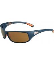 Bolle 12251 Rückstoß blaue Sonnenbrille