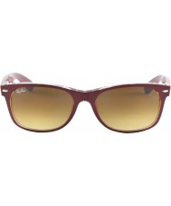 RayBan RB2132 New Wayfarer Bordo On Transparent