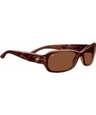 Serengeti Chloe glänzend Blase Schildpatt polarisierte Sonnenbrille Fahrer