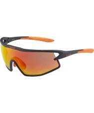 Bolle B-Rock matt schwarz und orange tns Feuer Sonnenbrille