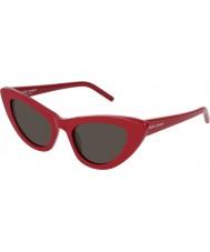 Saint Laurent Damen sl 213 Lilie 004 52 Sonnenbrille