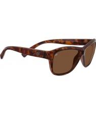 Serengeti Gabri glänzende rote Schildpatt polarisierte Sonnenbrille Fahrer