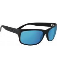 Serengeti Pistoia Satin schwarz polarisiert 555nm blaue Sonnenbrille