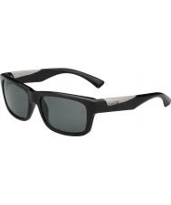 Bolle Jude glänzend schwarz polarisierten Sonnenbrillen tns