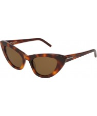 Saint Laurent Ladies sl 213 Lilie 006 52 Sonnenbrille