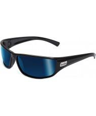 Bolle Python schwarz polarisierten Offshore-blaue Sonnenbrille