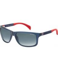 Tommy Hilfiger Th 1257-s 4nk jj blau rot Sonnenbrille